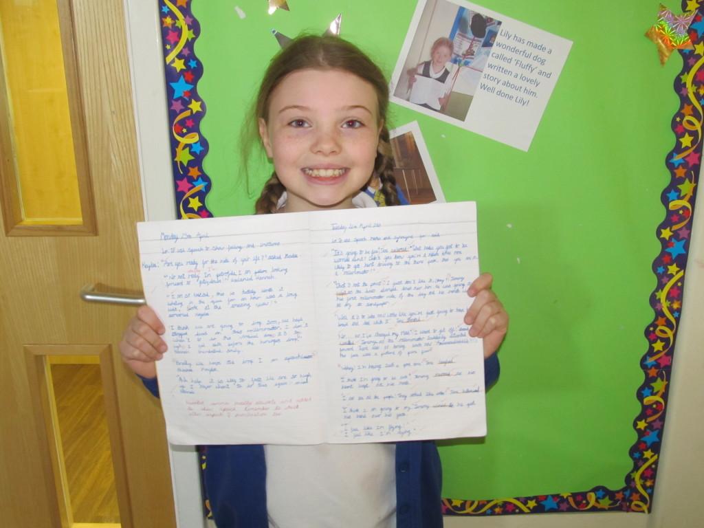 Super presentation Hannah, much improved.