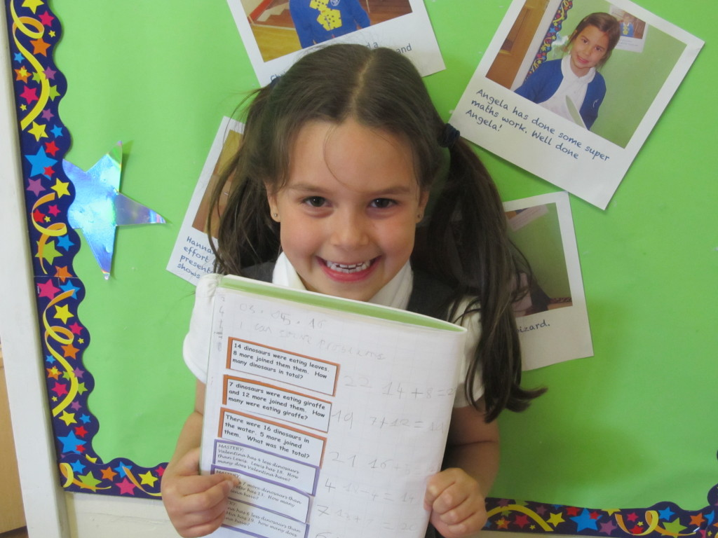 Elena is a maths wizard this week!