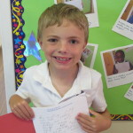 Oscar has done some super writing!